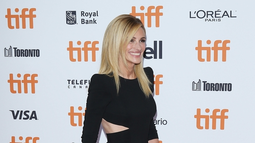 """Julia Roberts: """"It makes me feel really proud, because if I want to do it, it has to get to that next level""""."""