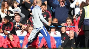 Marco Ianni appeared to taunt Jose Mourinho after the last-gasp Chelsea leveller