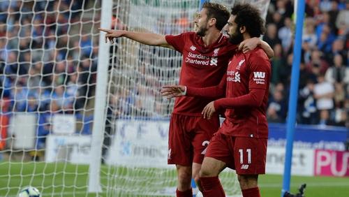 Mohamed Salah scored the game's only goal
