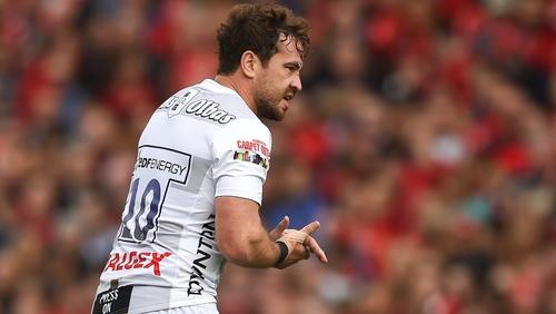 Danny Cipriani sent off against Munster