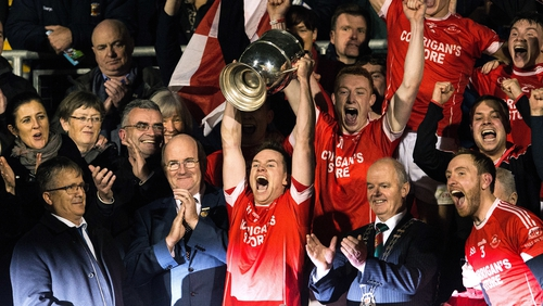 Ballintubber celebrate their victory