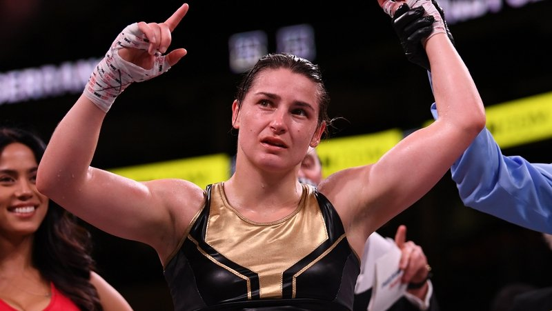 Katie Taylor was untroubled in victory