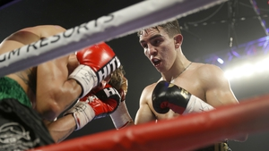 Michael Conlan claimed a seventh round victory over Italy's Nicola Cipoletta last night