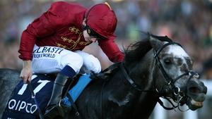 Oisin Murphy steered Roaring Lion to win The Queen Elizabeth II Stakes