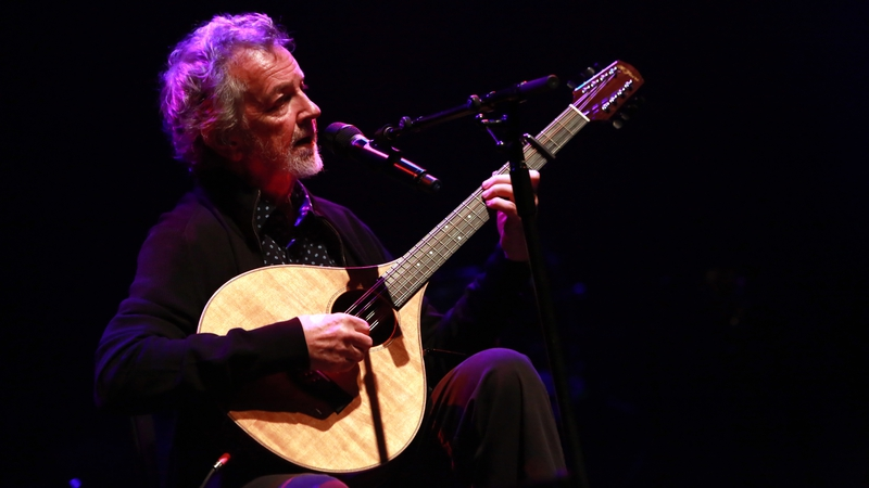 Andy Irvine performing at Imagining Ireland at the Royal Festival Hall, London in April 2016. Photo: Amy T. Zielinski/ Redferns/Getty Images