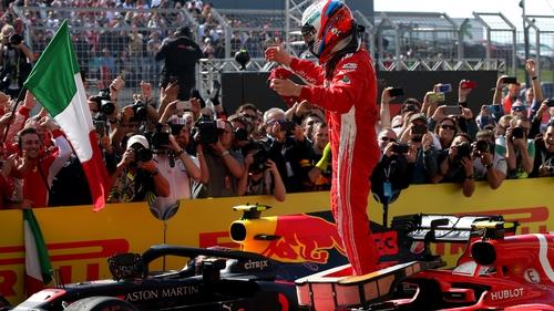 Kimi Raikkonen is Formula 1's oldest winner of a Grand Prix in 24 years