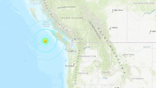 Large Earthquakes off BC Coast: No Tsunami Warnings, Damage or Injuries