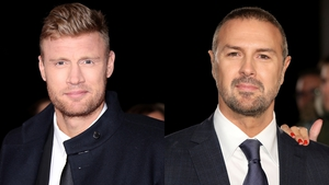 Freddie Flintoff and Paddy McGuinness