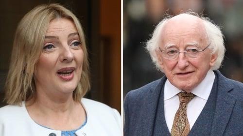 Liadh Ní Riada wrote to Michael D Higgins seeking clarity on his expenses