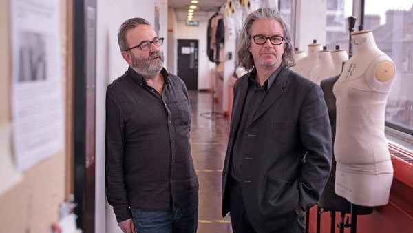 Abbey Theatre directors Neil Murray and Graham McLaren
