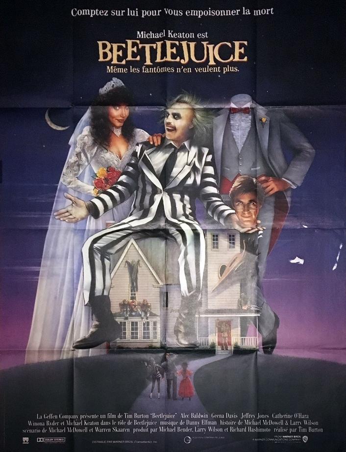 "30th anniversary of ""Beetlejuice"""