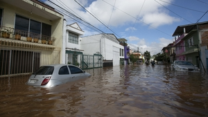 Storms ahead of Hurricane Willa have caused flooding already in some areas, such as Morelia, in Mexico