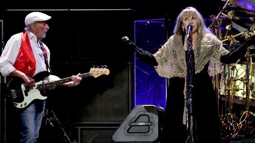 Fleetwood Mac's John McVie and Stevie Nicks
