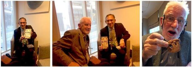 Left: William Hartson; midddle: Dr. Richard Collins (l) with William Hartson; right: Dr. Richard Collins