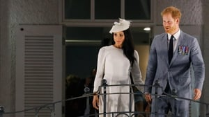 The Duke and Duchess of Sussex are visiting the archipelago for three days on their South Pacific royal tour.