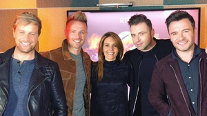 Westlife were Jenny Greene's guests on RTÉ 2FM on Tuesday