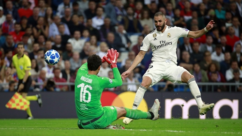 Karim Benzema was on the scoresheet for Real Madrid