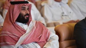Saudi Arabia's crown prince spoke at the Saudi Arabia's Future Investment Initiative conference