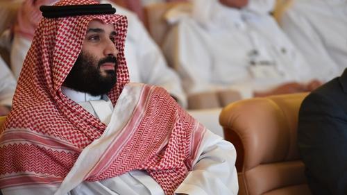 Saudi Arabia's crown prince Mohammad bin Salman