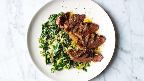Steak & Simple Greens