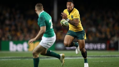 Israel Folau signs mega-deal after 'rollercoaster' year