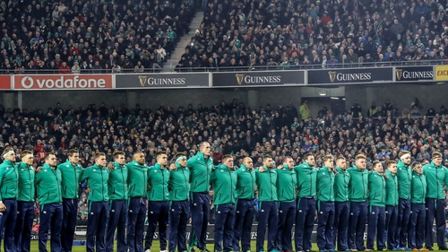 Ireland play New Zealand on 17 November