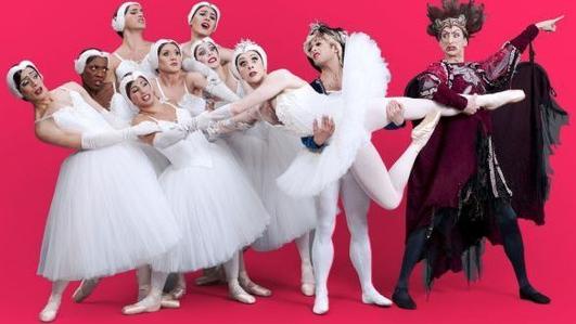 Jack Furlong, dancer with Les Ballets Trockadero de Monte Carlo