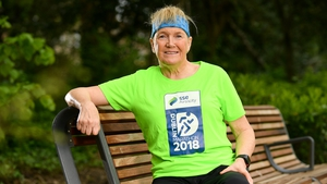 Mary Hickey at the launch of the 2018 SSE Airtricity Dublin Marathon