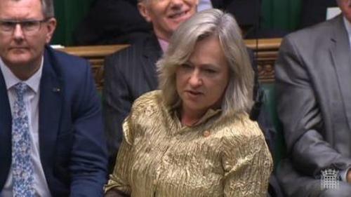 Plaid Cymru politician Liz Saville-Roberts