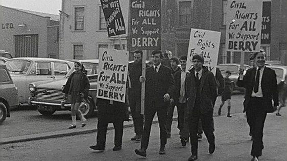 Civil Rights March To Derry