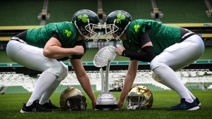 Notre Dame and Navy will compete for the Keough-Naughton trophy