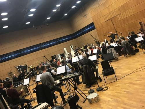 RTÉ Concert Orchestra rehearsing 'President Grants March' by P.S. Gilmore