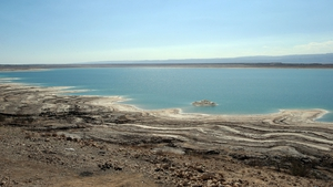 The flooding happened near the Dead Sea in Jordan