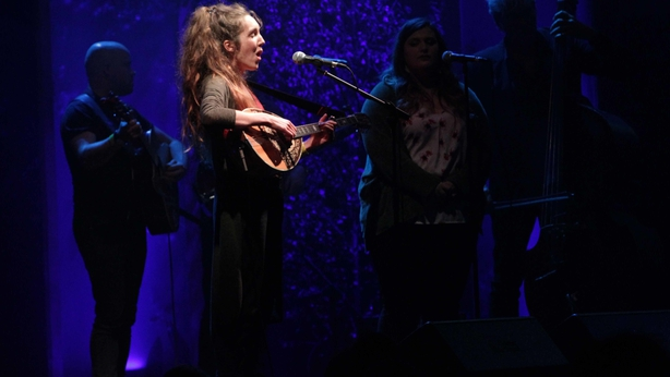 Anna Mieke at the RTE Radio 1 Folk Awards