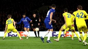 Ruben Loftus-Cheek scores his hat-trick goal