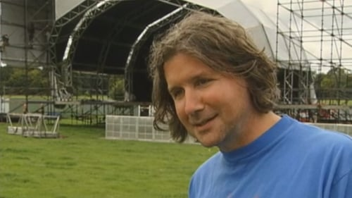 John Reynolds ahead of the first Electric Picnic in 2004