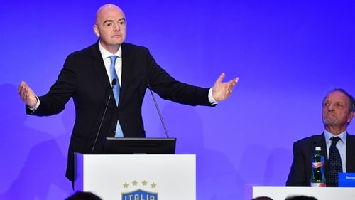 Gianni Infantino also hinted at having 'fewer tournaments'