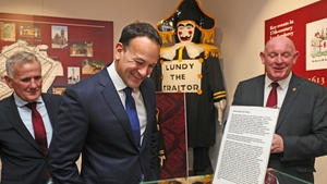 Leo Varadkar visited the Apprentice Boys of Derry museum
