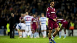 Jack Grealish leaves the field after Aston Villa's loss to QPR