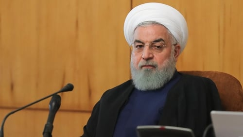 President Hassan Rouhani gave the order after the US imposed further sanctions on Iran