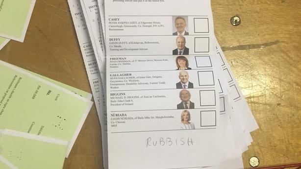 Spoiled vote Limerick