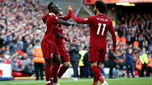Liverpool's three goalscorers in the comfortable victory