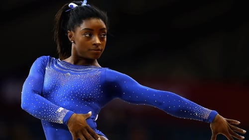 Simone Biles is one of the world's leading gymnast