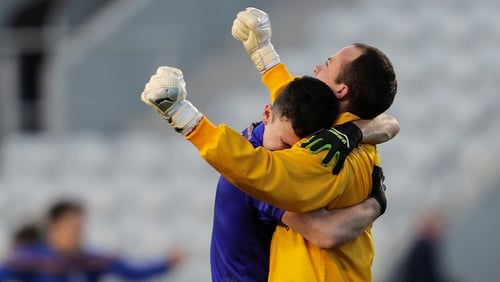 John Kerins and Colm Scully show what it means to the Barr's