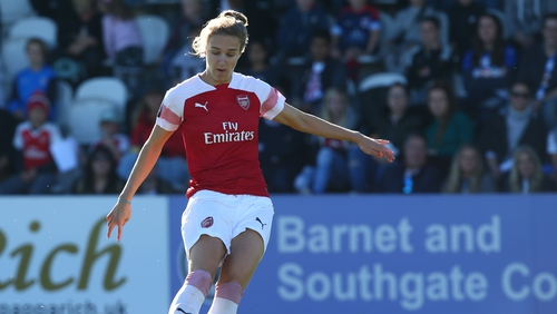 The Gunners' Vivianne Miedema was in goal-scoring form