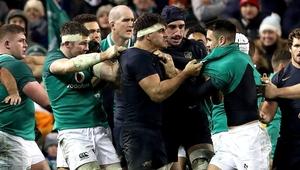 Ireland beat Argentina last November