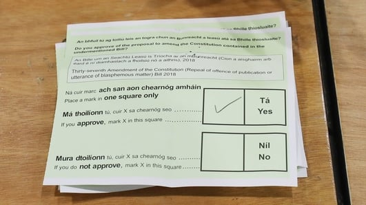 What does the passing of the blasphemy referendum mean?