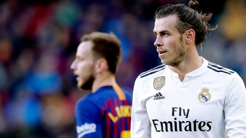 Gareth Bale came in for string criticism after Real's defeat at the Nou camp