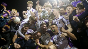 Kilmacud Crokes celebrate their success