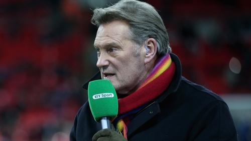 England legend Glenn Hoddle saved on set by rapid response sound man
